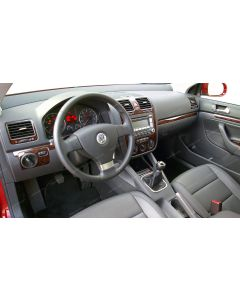 Volkswagen Golf 2005-2008 full interior dash kit, 4 Door, With Manual Transmission, With Manual Climate Control, 29 Pcs. Europe Only