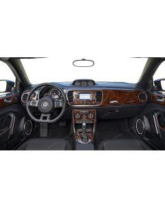 Volkswagen Beetle 2012-UP full interior dash kit, 45 Pcs.