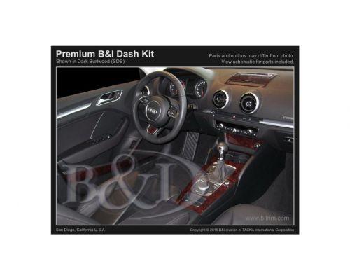 Audi A3 2015-2021 Dash Trim Kit, Small kit, 4 Door, 24 Pcs