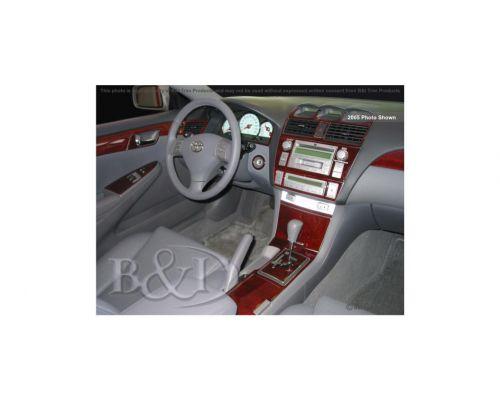 Toyota Solara 2007-2008 Dash Trim Kit, Full kit, 2 Door, 25 Pcs