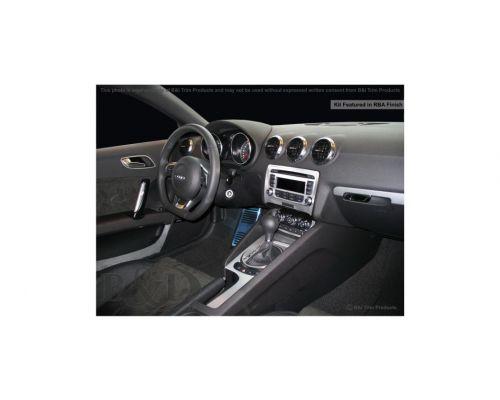 Audi TT 2008-2014, Audi TTS 2008-2014 Dash Trim Kit, Fits without navigation (small kit), 2 Door, 13 Pcs