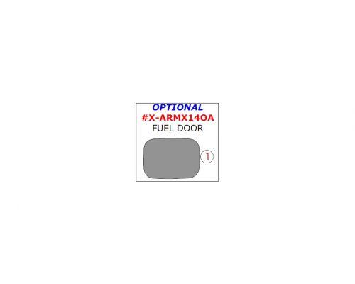 Acura MDX 2014-2019 exterior kit, Optional Fuel Door Trim, 1 Pc.