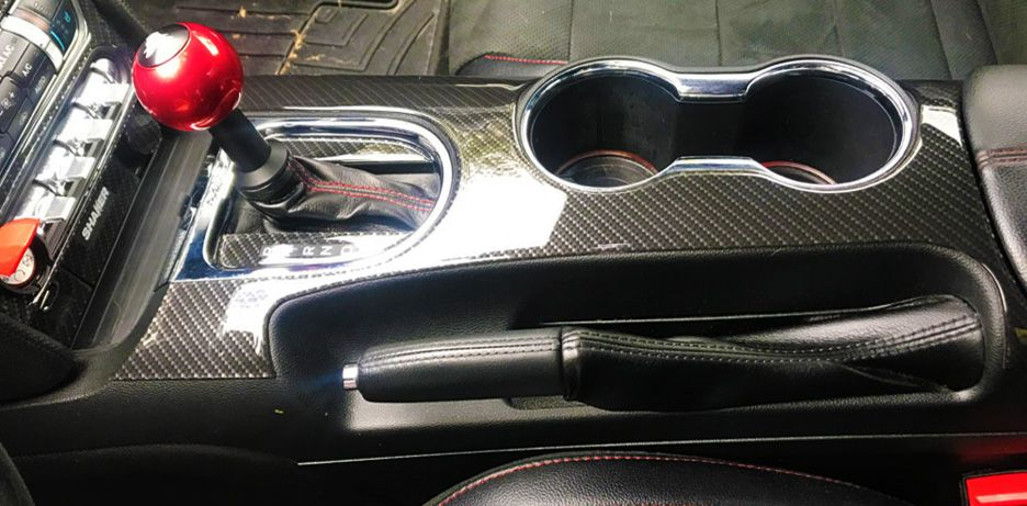 Ford Mustang Carbon Fiber Dash Trim Kit